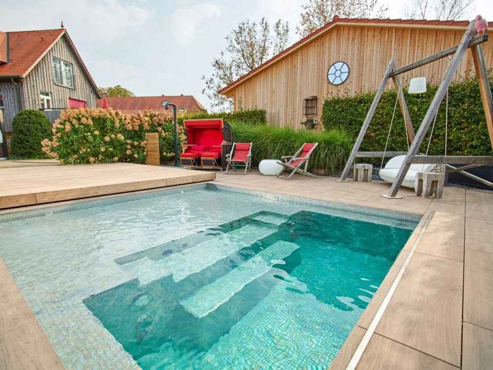 Riviera CSide Schwimmbecken mit Abdeckung